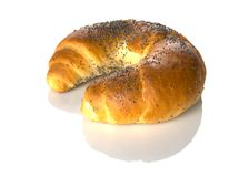 Croissant curruscante Foto de archivo
