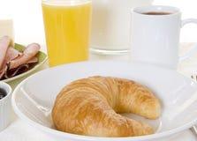 croissant de déjeuner Image stock