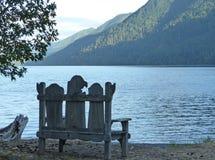 Croissant de lac, wa Photo stock