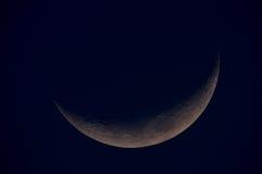 Croissant de lune photographie stock libre de droits