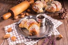 Croissant de Martin de Poznan fotografia de stock royalty free