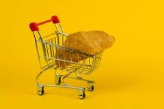 Croissant del rotolo fotografia stock libera da diritti