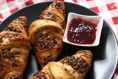 Croissant delicioso Imágenes de archivo libres de regalías