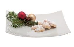 Croissant della vaniglia immagini stock
