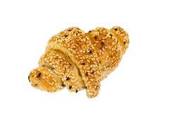 Croissant do sésamo Fotos de Stock Royalty Free