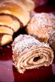 Croissant dolce fotografia stock