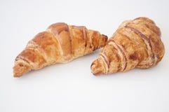 Croissant e caffè Fotografia Stock Libera da Diritti
