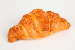 Croissant filled with ham and cheese Royalty Free Stock Image