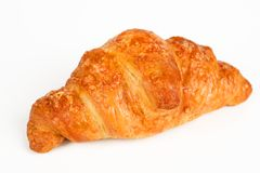 Croissant filled with ham and cheese Royalty Free Stock Images