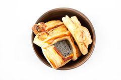 Croissant floconneux Images stock