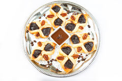 Croissant floconneux Photo stock