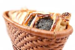 Croissant floconneux cuit au four Photo libre de droits