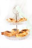 Croissant frais cuit au four Photographie stock libre de droits