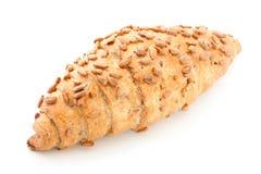 Croissant frais et savoureux photo libre de droits