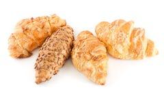 Croissant frais et savoureux Images libres de droits
