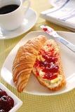 croissant francuz Obrazy Royalty Free