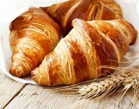 Croissant freschi fotografia stock