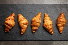 Croissant freschi del burro immagini stock libere da diritti
