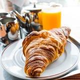 Croissant fresco Immagini Stock Libere da Diritti