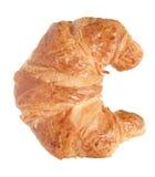 Croissant fresco, aislado Fotos de archivo