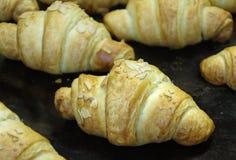 Croissant fresco fotografia stock