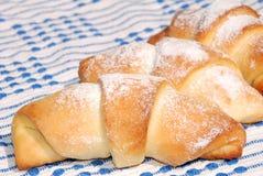 Croissant Home-made Fotos de Stock