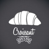 Croissant icon Stock Photo