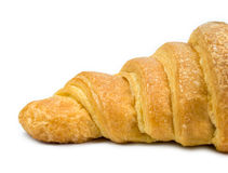 Croissant isolated. Fresh croissant isolated on white Stock Photo