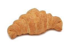 Croissant, isolated Royalty Free Stock Photos
