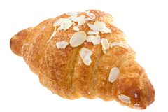 Croissant on isolated Royalty Free Stock Image