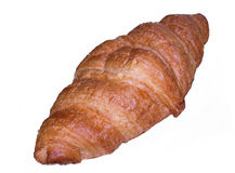 Croissant isolated. Isolated croissant on a white background Royalty Free Stock Images