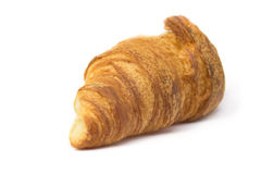 Croissant isolated on white Stock Photography