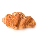 Croissant isolated on white background Royalty Free Stock Photos