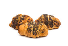 Croissant isolated Stock Photography