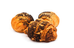 Croissant isolated Stock Image
