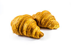 Croissant. Isolated on a white background Stock Photo