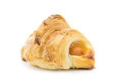 Croissant isolato su priorità bassa bianca Immagine Stock Libera da Diritti
