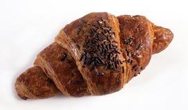 Croissant italiano para el desayuno Foto de archivo libre de regalías