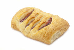 Croissant with jam Stock Image