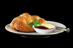 Croissant With Jam 3 Royalty Free Stock Images