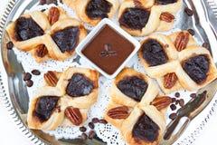 Croissant met koffie Royalty-vrije Stock Foto