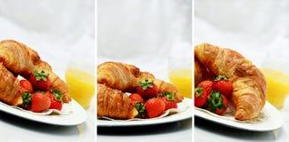 Croissant Montage Stock Photo