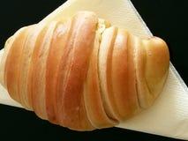 Croissant na pielusze Zdjęcie Royalty Free