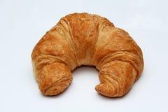Croissant no fundo branco Fotos de Stock Royalty Free