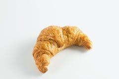 Croissant no fundo branco Imagens de Stock