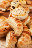 Croissant and other puff pastry Royalty Free Stock Photography