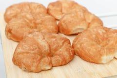 Croissant ou pain français Images stock