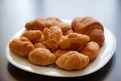 Croissant, panino, panini, fotografie stock