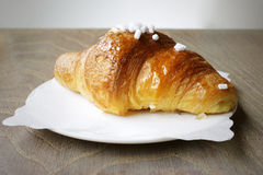 Croissant pastry Royalty Free Stock Photography