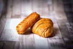 Croissant per la prima colazione fotografie stock